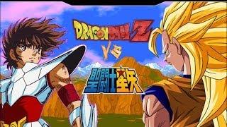 getlinkyoutube.com-Dragon Balll Z VS Saint Seiya