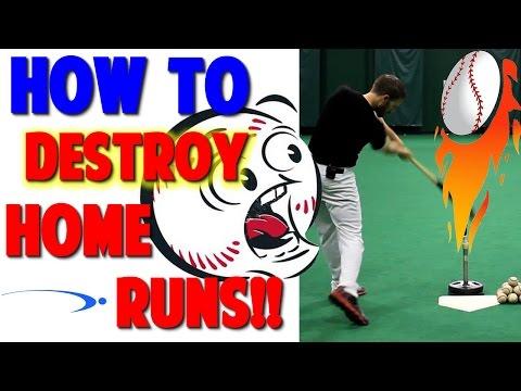 How to Hit a Home Run | Baseball Hitting Drills (Pro Speed Baseball)