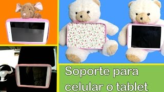 getlinkyoutube.com-How to make a phone or tablet stand