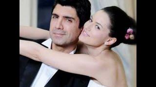 getlinkyoutube.com-زوجة  الممثل الحقيقية اوزجان دنيز بطل مسلسل يوم كتابة قدري