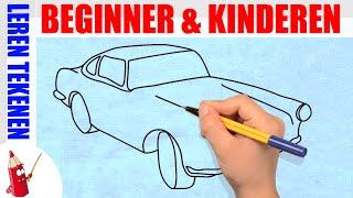 getlinkyoutube.com-Auto Tekenen 2 in 130s - Leren tekenen voor beginners en kinderen ★ Deel 56