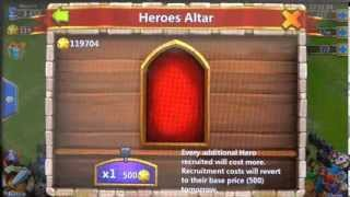 getlinkyoutube.com-What are the chances of getting a Legendary Hero using 100 thousand HB in Castle Clash