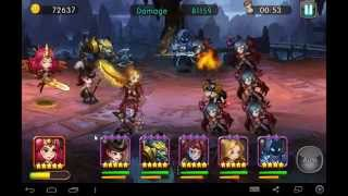 getlinkyoutube.com-LOA mobile | How to get best damage in gold trial
