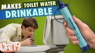 getlinkyoutube.com-LifeStraw makes toilet water drinkable
