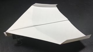 getlinkyoutube.com-ギネス認定[折り紙origami]世界一飛行時間が長い紙飛行機の折り方   The best in the world paper airplane