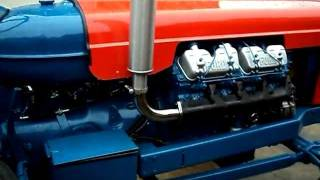 getlinkyoutube.com-Fordson Major Perkins V8's Running together