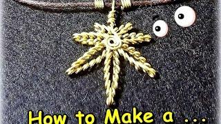 """getlinkyoutube.com-Como hacer en Alambre """"Hoja de Marihuana""""/How to Make a """"Mariuana Leaf Wire""""- By Puntoy Alambre"""