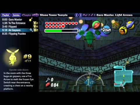 "Legend of Zelda Majora's Mask Walkthrough 12 (2/5) ""Stone Tower Temple: Light Arrows"""