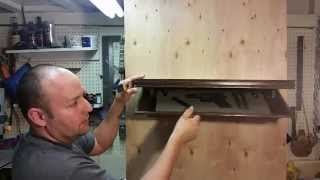 How to Make a shelf with a hidden compartment