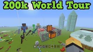 getlinkyoutube.com-Minecraft Xbox Video World World Tour 200k Special