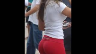 getlinkyoutube.com-Amazing perfect round asses!