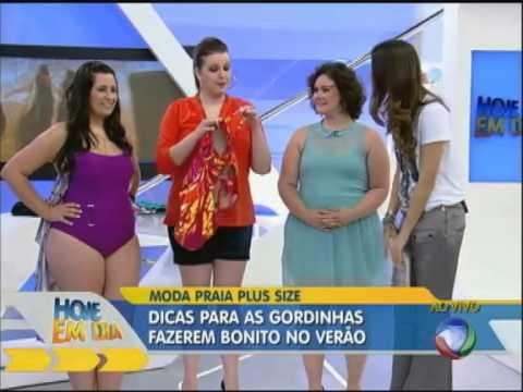 Dicas de biquínis para mulheres acima do peso com Renata Poskus Vaz - Hoje em dia - Rede Record