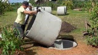 getlinkyoutube.com-Шамбо без крана своими руками септик строим сами /  groundwater septic / septic build themselves