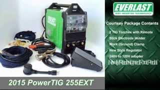 getlinkyoutube.com-AC/DC PowerTIG 255EXT IGBT Inverter TIG/ Stick Welder from Everlast Part 2 (2015 Model)