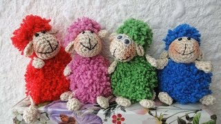 getlinkyoutube.com-Весёлая ОВЕЧКА Merry sheep Crochet