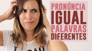 Cintia disse - Dicas de Inglês: Pronúncia de Homófonos