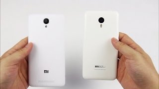 getlinkyoutube.com-Xiaomi Redmi Note 2 VS Meizu m2 Note