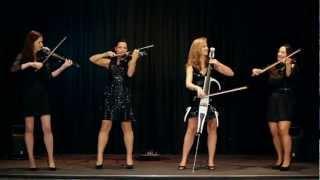 getlinkyoutube.com-Palatine Electric String Quartet perform Palladio by Karl Jenkins