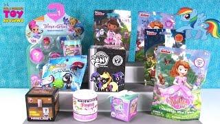 getlinkyoutube.com-Disney Tsum Tsum Teenie Genies Shopkins My Little Pony Surprise Blind Bag Toy Opening | PSToyReviews