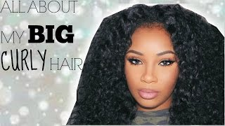 getlinkyoutube.com-BIG CURLY HAIR UNDER $50 [HIGHLY REQUESTED] | AALIYAHJAY