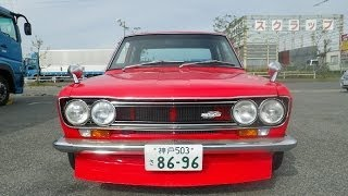 getlinkyoutube.com-510 セダン2000cc Datsan 510 2L engine sound