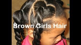 Valentines Day Hairstyle for Natural Girls