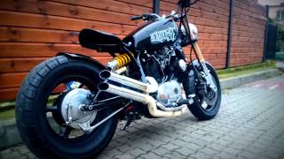 getlinkyoutube.com-Cafe Racer XV 700 Virago Poland by Power Choppers