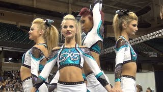 getlinkyoutube.com-SSX Cheer Extreme Raleigh Showcase SHARK BITE