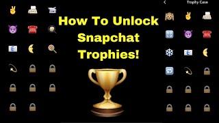 getlinkyoutube.com-How To Unlock Snapchat Trophies! 🏆