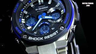 getlinkyoutube.com-CASIO G-SHOCK G-STEEL GST-W100D-1A2JF カシオ G-SHOCK Gスチール タフソーラー電波