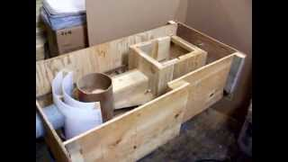 getlinkyoutube.com-ROCKET STOVE MASS HEATER (poele rocket stove construction partie 2)