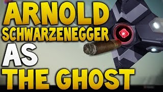 getlinkyoutube.com-Arnold Schwarzenegger as Ghost Funny ! (Destiny)