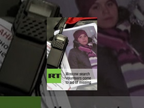 Moscow search volunteers come to aid of missing