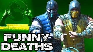 getlinkyoutube.com-Mortal Kombat X Funny Deaths in Test Your Might Desafio de Fuerza (MKX)