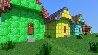 getlinkyoutube.com-Minecraft Mod - CASAS EM UM SEGUNDO!! - Instant HOUSE MOD