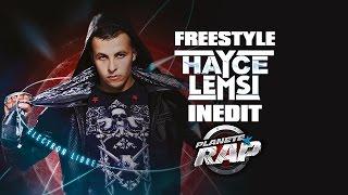 Hayce Lemsi - Freestyle inédit (live Planète Rap)