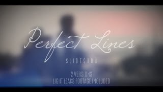 getlinkyoutube.com-FREE After Effects Template - Perfect Lines Slideshow (Long)