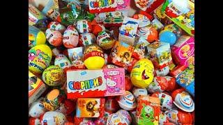 getlinkyoutube.com-36 Киндер Сюрпризов,Хелло Китти,Cut the Rope,Welly Cars,Барби,Майнкрафт, Winx PopPixie