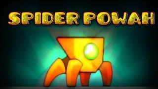 getlinkyoutube.com-Geometry Dash - 2.1 Spider Powers (/ ͡^ _- ͡^)/