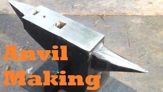 getlinkyoutube.com-BLACKSMITHING Making an Anvil