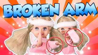 Barbie - Have the Twins Broken Their Arm?