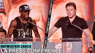 getlinkyoutube.com-Floyd Mayweather vs. Canelo Alvarez- Full Los Angeles press conference (full HD)
