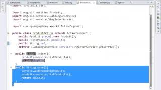 getlinkyoutube.com-Tutorial 1 Struts2 Spring JPA Hibernate Catalogue Produits22 04 14 M Youssfi