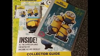 getlinkyoutube.com-Minions Topps Starter Set And 5 Booster Pack Opening.