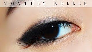 getlinkyoutube.com-[Monthly Roelle] July 2015 월간 로엘 (무쌍/홑꺼풀 스모키 메이크업, smokey makeup for monolids)