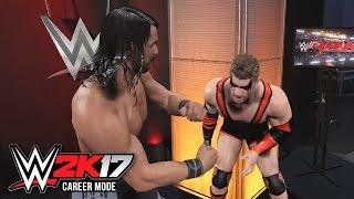 getlinkyoutube.com-WWE 2K17 My Career Mode Official Gameplay Trailer V2 - Merchandise Sales & Skip NXT Preview