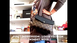 getlinkyoutube.com-First Impression: LV Twinset
