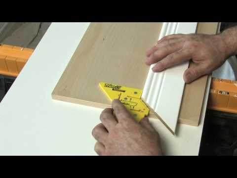 8401 Trim45 - Trim Molding Carpentry Aid from Milescraft