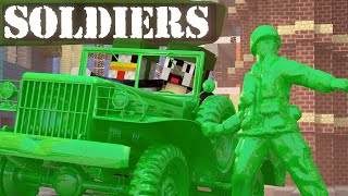 getlinkyoutube.com-Minecraft | ARMY SOLDIERS MOD Showcase! (Clay Soldiers, Clay Animals, Army Men)