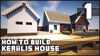 getlinkyoutube.com-Minecraft House - How to Build : Keralis House - Part 1